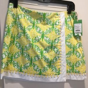 Lilly Pulitzer Prussia skort size 4 new with tags